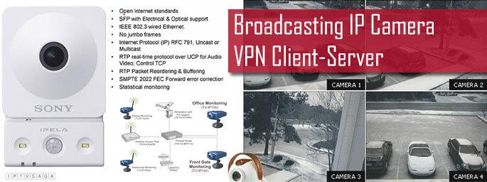 Broadcasting-IP-Camera-VPN-Client-Server