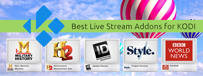 4 Best Live TV Addons for KODI