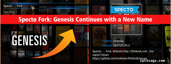 Specto Fork: Genesis Continues with a New Name