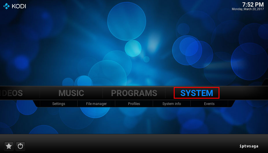 kodi-system-shortcuts-addons