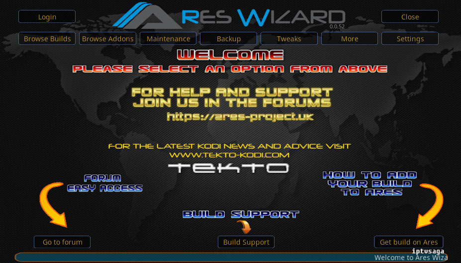 kodi-screen-ares-wizard