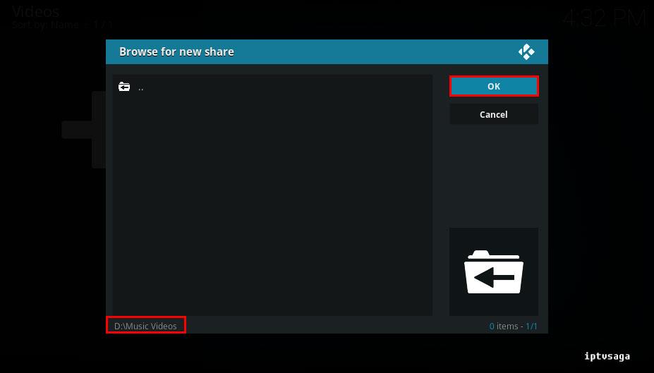 kodi-select-video-folder-from-disk-ok