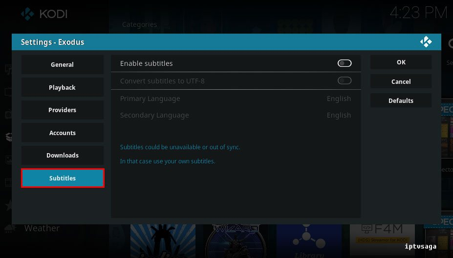 exodus-configure-subtitles-settings