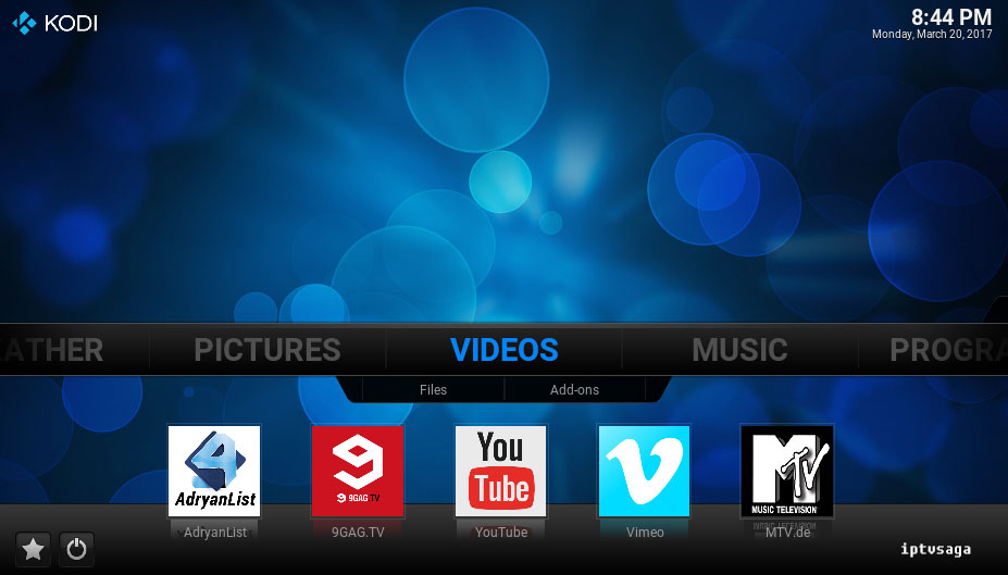 kodi-addon-shortcuts-added-menu