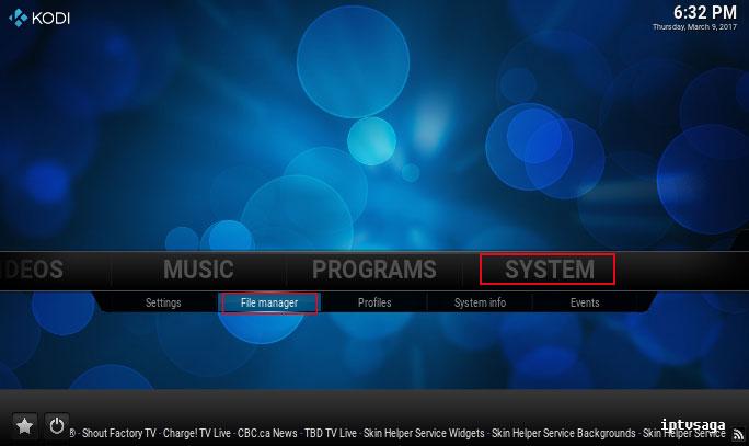kodi-system-file-manager