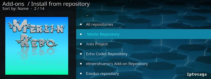 Kodi: How to Install Merlin Repository